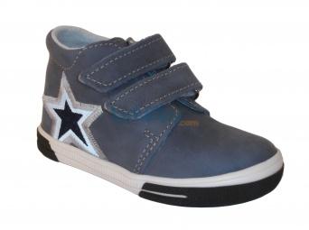 Zvětšit Jonap J022/M/V hvězda modrá, dětská celoroční obuv