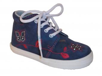 Zvětšit Jonap J022/S květ modrá, dětská celoroční obuv