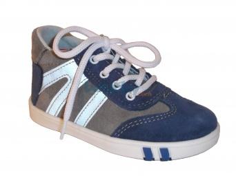 Zvětšit Jonap J014/S modrá/šedá, dětská celoroční obuv