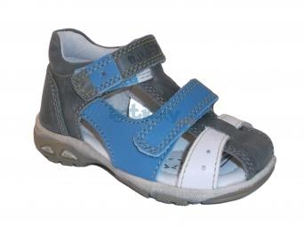Zvětšit D.D.STEP - AC290-7003B šedá, chlapecké letní boty