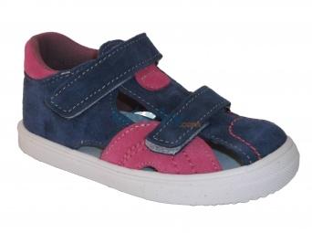 Zvětšit Jonap - J036/S růžová/modrá, letní boty