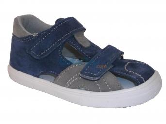 Zvětšit Jonap - J036/S modrá/šedá, chlapecké letní boty