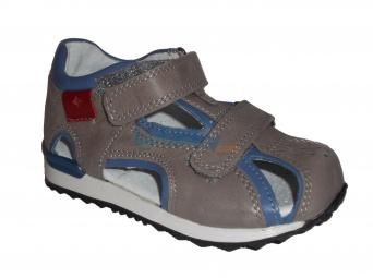 Zvětšit Kornecki 3973 POPIEL, dětské letní sandály