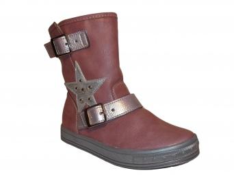 Zvětšit Kornecki 4826 LILA, dívčí zimní obuv