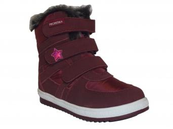 Zvětšit Protetika - Peny bordo, dívčí zimní obuv