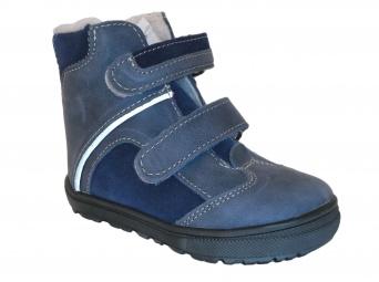 Zvětšit Jonap - J055/M modrá, chlapecká zimní obuv