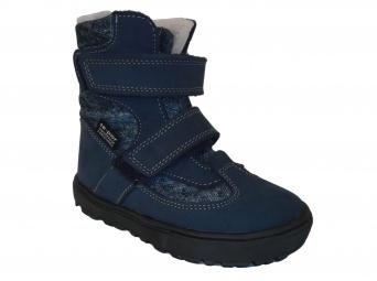 Zvětšit Jonap - J024/N modrá, 02 chlapecká zimní obuv s membránou