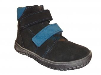 Zvětšit Jonap J-BARE2 šedá/tyrkys, 01 dětská celoroční obuv