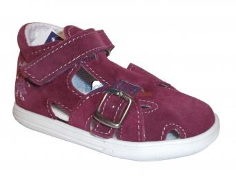 Zvětšit Jonap - J009/S holka/vínová, 01 letní boty