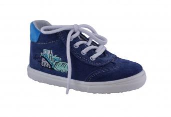 Zvětšit Jonap J011/M bagr modrá, dětská celoroční obuv