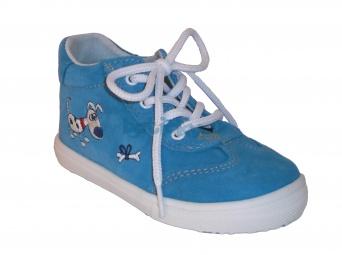Zvětšit Jonap J011/S pes tyrkys, dětská celoroční obuv