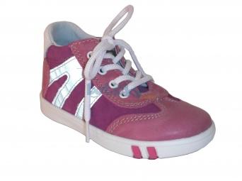 Zvětšit Jonap J014/M růžová, dětská celoroční obuv