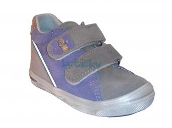 Zvětšit Jonap J015/S šedá/fialová, dětská celoroční obuv