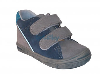 Zvětšit Jonap J015/S šedá/modrá, dětská celoroční obuv