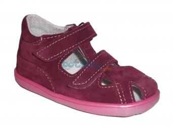 8711890d406fa Jonap - J041/S vínová 01 dívčí letní boty | Dětská obuv | letní obuv ...