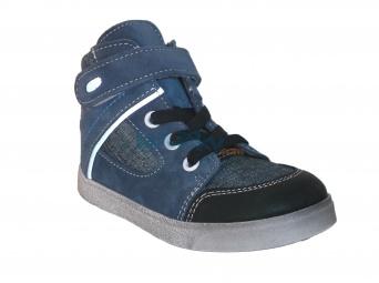 Zvětšit Jonap J050/S/V modrá jeans, dětská celoroční obuv