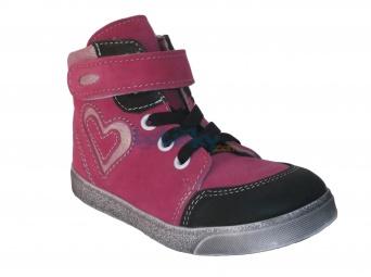 Zvětšit Jonap J050/S/V růžová, dětská celoroční obuv
