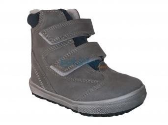 Zvětšit Jonap - J020/M šedá/modrá, dětská zimní obuv