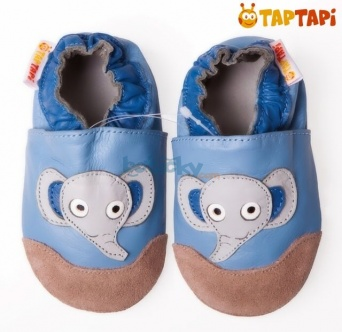 Zvětšit TAPTAPI kožené capáčky - sloník Toník