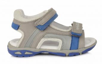Zvětšit D.D.STEP - AC290-434BL grey, chlapecké letní boty
