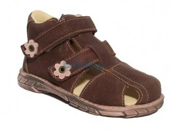 Zvětšit Pegres 1201, fialová, dívčí sandál