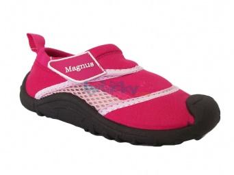 Zvětšit Dětská obuv do vody, 44-0827-T1, růžová