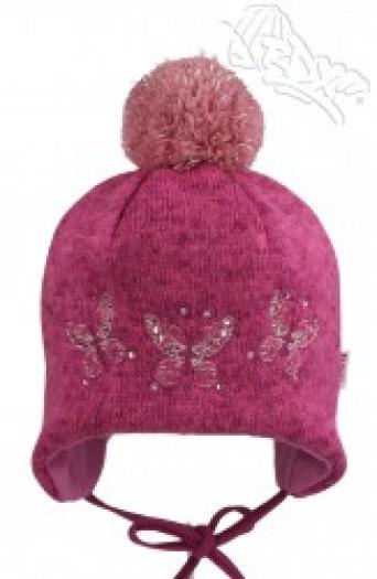 Zvětšit RDX čepice 3505 růžová, dívčí zimní čepice