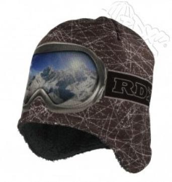 Zvětšit RDX čepice 3550 šedá, chlapecká zimní čepice