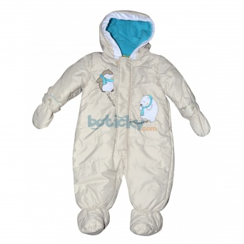 Zvětšit kojenecký overal PD0027-04 modrý