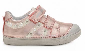 Zvětšit D.D.Step - 049-68BL metallic pink, dívčí celoroční obuv