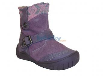 Zvětšit Protetika - Mia purple, dívčí zimní obuv