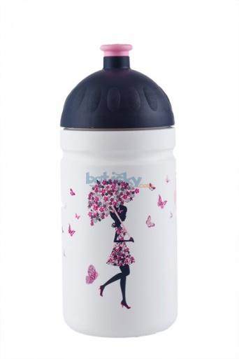 Zvětšit Zdravá láhev Dívka s deštníkem 0,5l