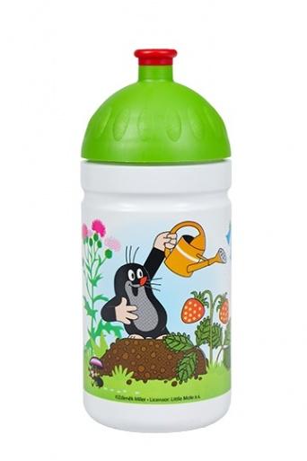 Zvětšit Zdravá láhev Krtek a jahody 0,5l - zelená