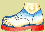 Nevhodná dětská obuv
