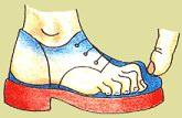 nadměrka - obuv